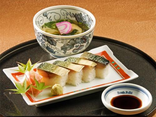 ミニ鯖寿司セット